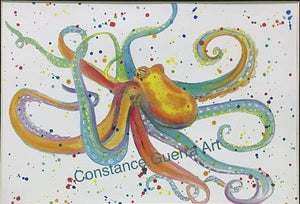 Colors of the Rainbow Octopus
