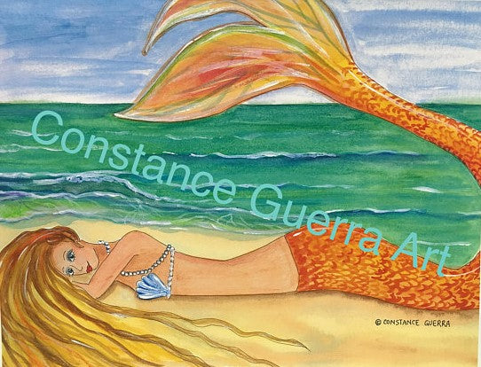Sun Kissed Mermaid