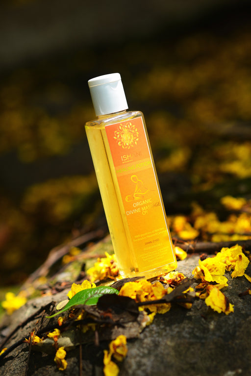 Organic Divine Massage Oil