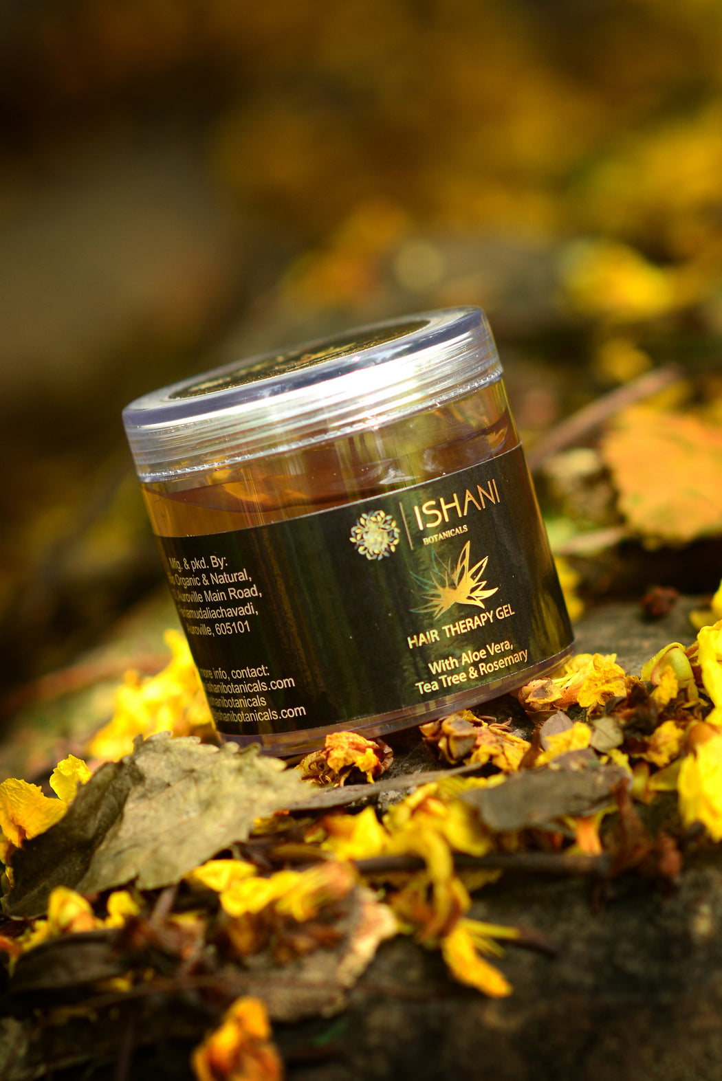Ishani Botanicals Vegan Organic Hair Therapy Gel