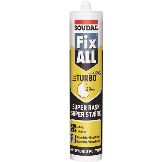 Soudal Fix All Turbo Hvit