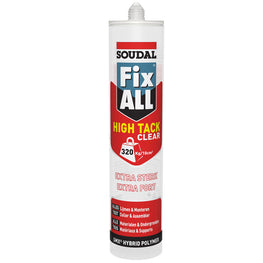 Soudal Fix All High Tack Clear