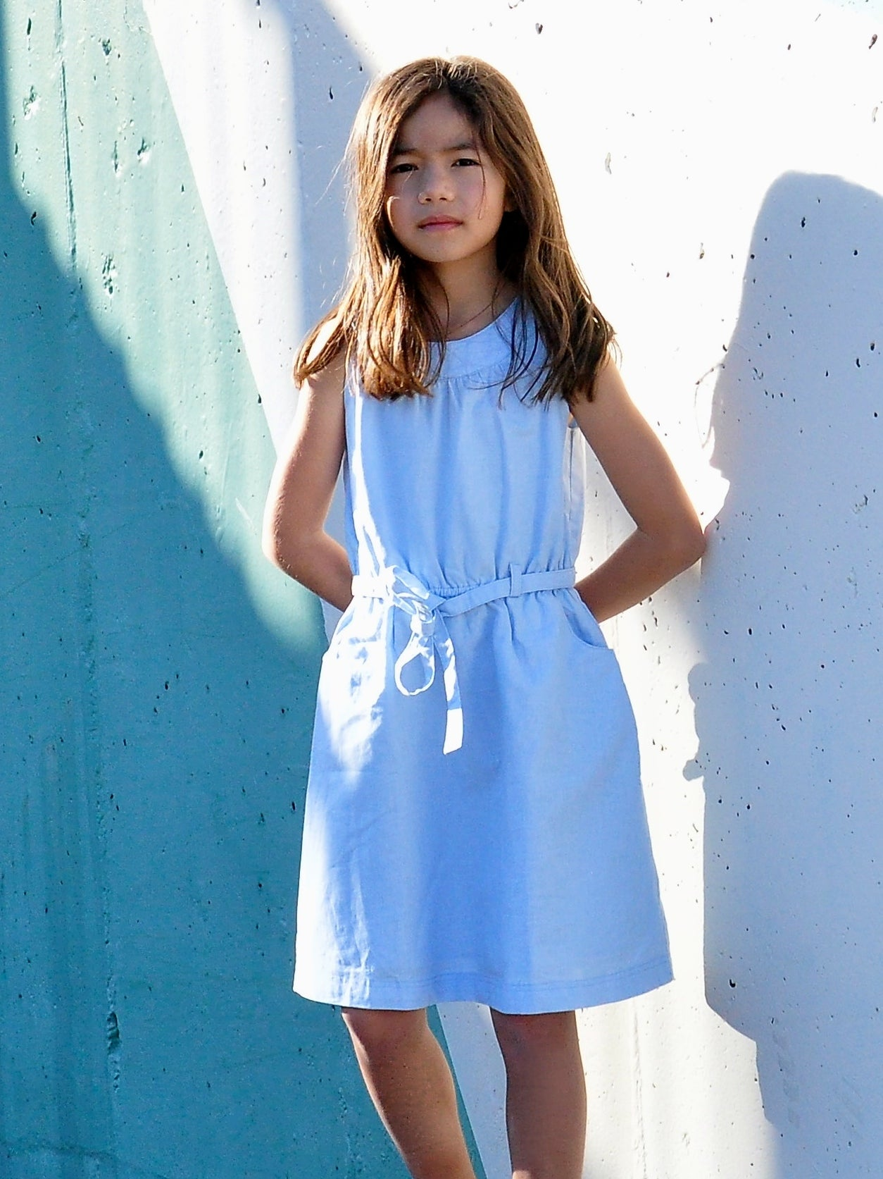 Halter Neck Linen Cotton - vsolochildren