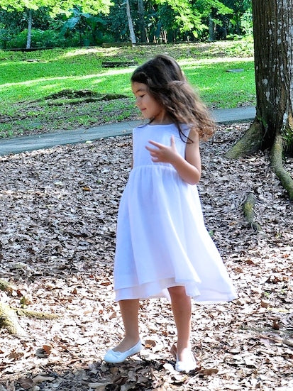 Layered Dress White - Sold Out. - vsolochildren