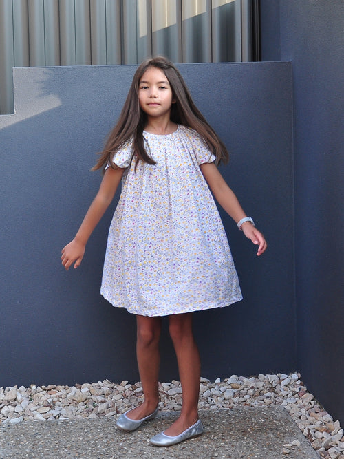 Tiny Floral YP Dress - vsolochildren
