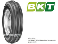 7.50-18 8ply BKT 3-Rib Tractor Front Tyre