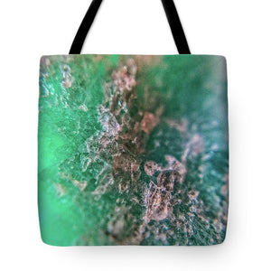 Crystals And Stones Amazonite 7921 - Tote Bag - Jani Bryson Intuitive Photographer