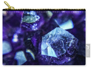 Crystals And Stones Amethyst 9190 - Carry-All Pouch