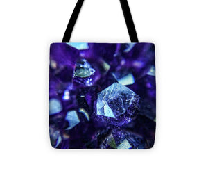 Crystals And Stones Amethyst 9190 - Tote Bag