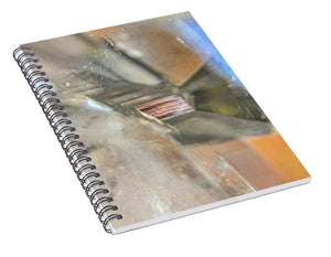 Crystals And Stones Clear Quartz 0110 - Spiral Notebook