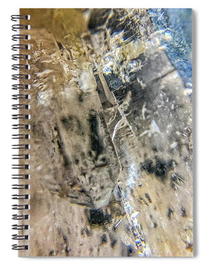Crystals And Stones Clear Quartz 0114 - Spiral Notebook