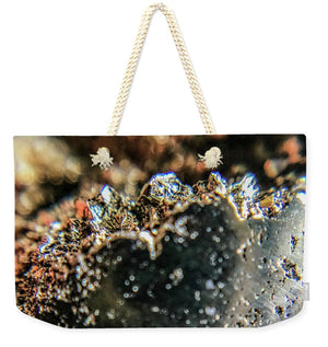 Crystal And Stones Pyrite 4001 - Weekender Tote Bag - Jani Bryson Intuitive Photographer