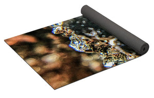 Crystal And Stones Pyrite 4001 - Yoga Mat - Jani Bryson Intuitive Photographer