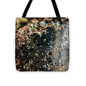 Crystal And Stones Pyrite 4001 - Tote Bag - Jani Bryson Intuitive Photographer