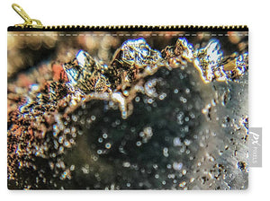 Crystal And Stones Pyrite 4001 - Carry-All Pouch - Jani Bryson Intuitive Photographer