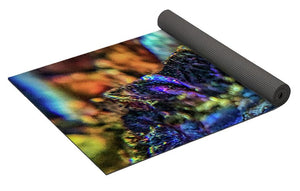 Crystals And Stones Peacock Ore 8972 - Yoga Mat