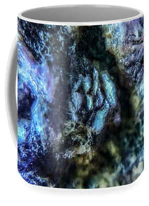 Crystals And Stones Lepidolite 9019 - Mug - Jani Bryson Intuitive Photographer