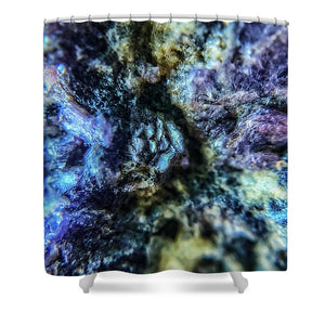 Crystals And Stones Lepidolite 9019 - Shower Curtain - Jani Bryson Intuitive Photographer