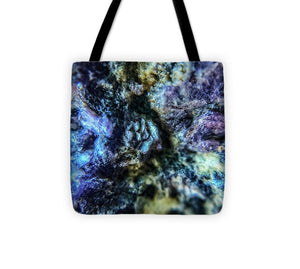 Crystals And Stones Lepidolite 9019 - Tote Bag - Jani Bryson Intuitive Photographer