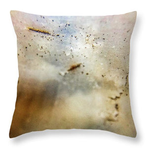 Crystals And Stones Agate 3367 - Throw Pillow - Jani Bryson Intuitive Photographer
