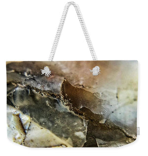 Crystals And Stones Agate 3385 - Weekender Tote Bag - Jani Bryson Intuitive Photographer