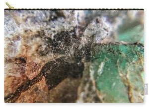 Crystals And Stones Amazonite 5708 - Carry-All Pouch - Jani Bryson Intuitive Photographer