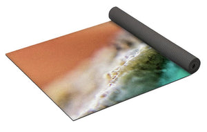 Crystals And Stones Amazonite 5729 - Yoga Mat - Jani Bryson Intuitive Photographer