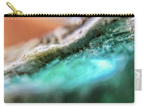 Crystals And Stones Amazonite 5729 - Carry-All Pouch - Jani Bryson Intuitive Photographer