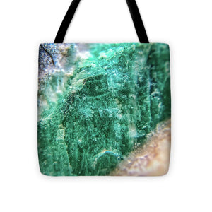 Crystals And Stones Amazonite #7931 - Tote Bag - Jani Bryson Intuitive Photographer