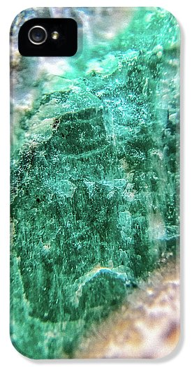 Crystals And Stones Amazonite #7931 - Phone Case - Jani Bryson Intuitive Photographer
