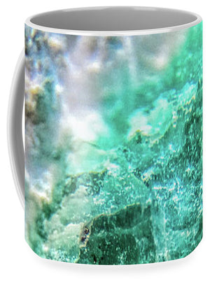Crystals And Stones Amazonite #7931 - Mug - Jani Bryson Intuitive Photographer