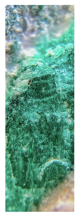 Crystals And Stones Amazonite #7931 - Yoga Mat - Jani Bryson Intuitive Photographer