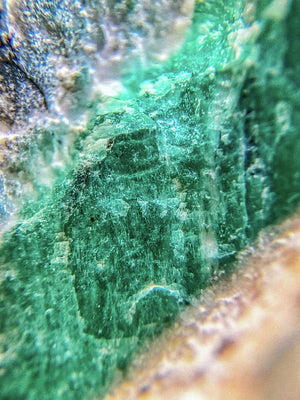 Crystals And Stones Amazonite #7931 - Art Print - Jani Bryson Intuitive Photographer