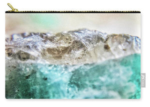 Crystals And Stones Amazonite E5655 - Carry-All Pouch - Jani Bryson Intuitive Photographer