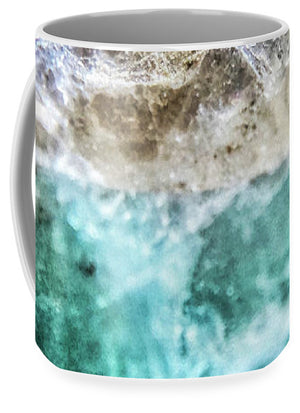 Crystals And Stones Amazonite E5655 - Mug - Jani Bryson Intuitive Photographer