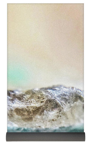 Crystals And Stones Amazonite E5655 - Yoga Mat - Jani Bryson Intuitive Photographer