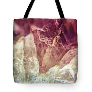 Crystals And Stones Amethyst 4612 - Tote Bag - Jani Bryson Intuitive Photographer
