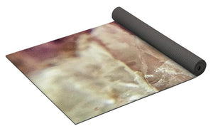 Crystals And Stones Amethyst 4612 - Yoga Mat - Jani Bryson Intuitive Photographer
