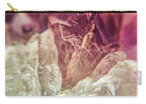 Crystals And Stones Amethyst 4612 - Carry-All Pouch