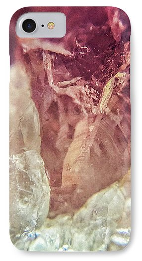 Crystals And Stones Amethyst 4612 - Phone Case