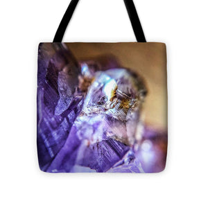 Crystals And Stones Amethyst 4628 - Tote Bag