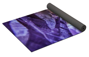 Crystals And Stones Amethyst 4628 - Yoga Mat
