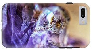Crystals And Stones Amethyst 4628 - Phone Case - Jani Bryson Intuitive Photographer