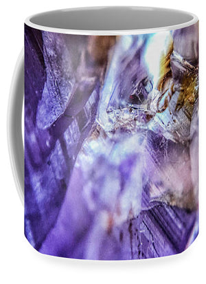Crystals And Stones Amethyst 4628 - Mug - Jani Bryson Intuitive Photographer