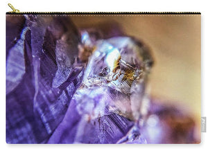 Crystals And Stones Amethyst 4628 - Carry-All Pouch
