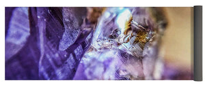 Crystals And Stones Amethyst 4628 - Yoga Mat - Jani Bryson Intuitive Photographer
