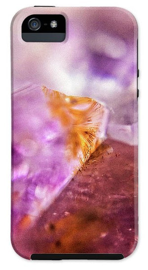 Crystals And Stones Amethyst 4632 - Phone Case - Jani Bryson Intuitive Photographer