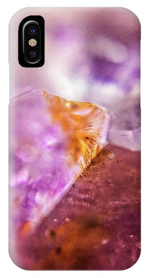 Crystals And Stones Amethyst 4632 - Phone Case