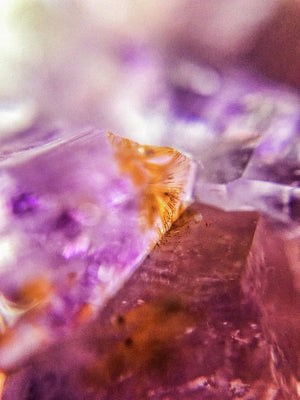 Crystals And Stones Amethyst 4632 - Art Print