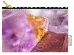 Crystals And Stones Amethyst 4632 - Carry-All Pouch